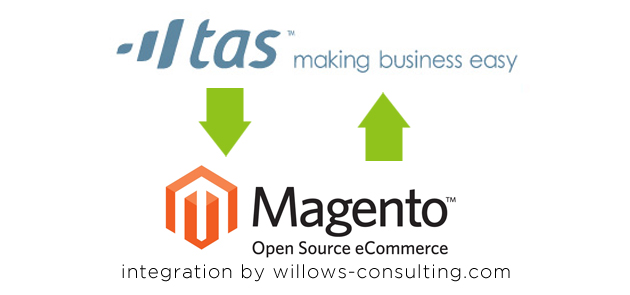 magento to tasbooks link