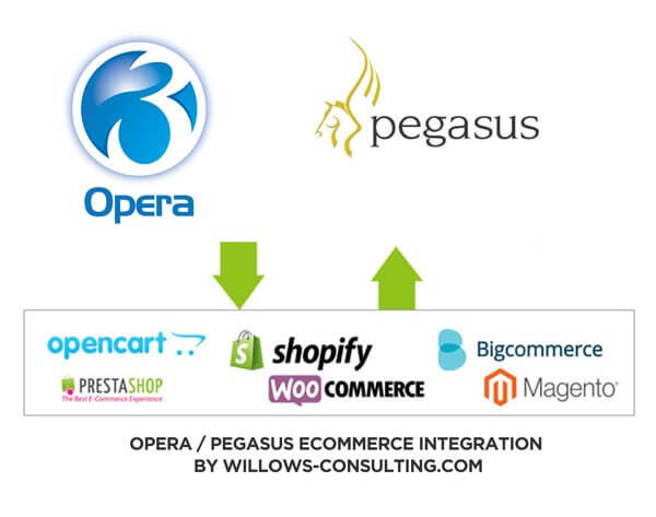 Link Pegasus with Ecommerce