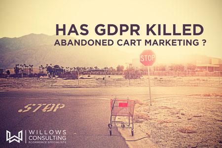 Abandoned Carts GDPR