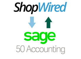 Shopwired to Sage Link